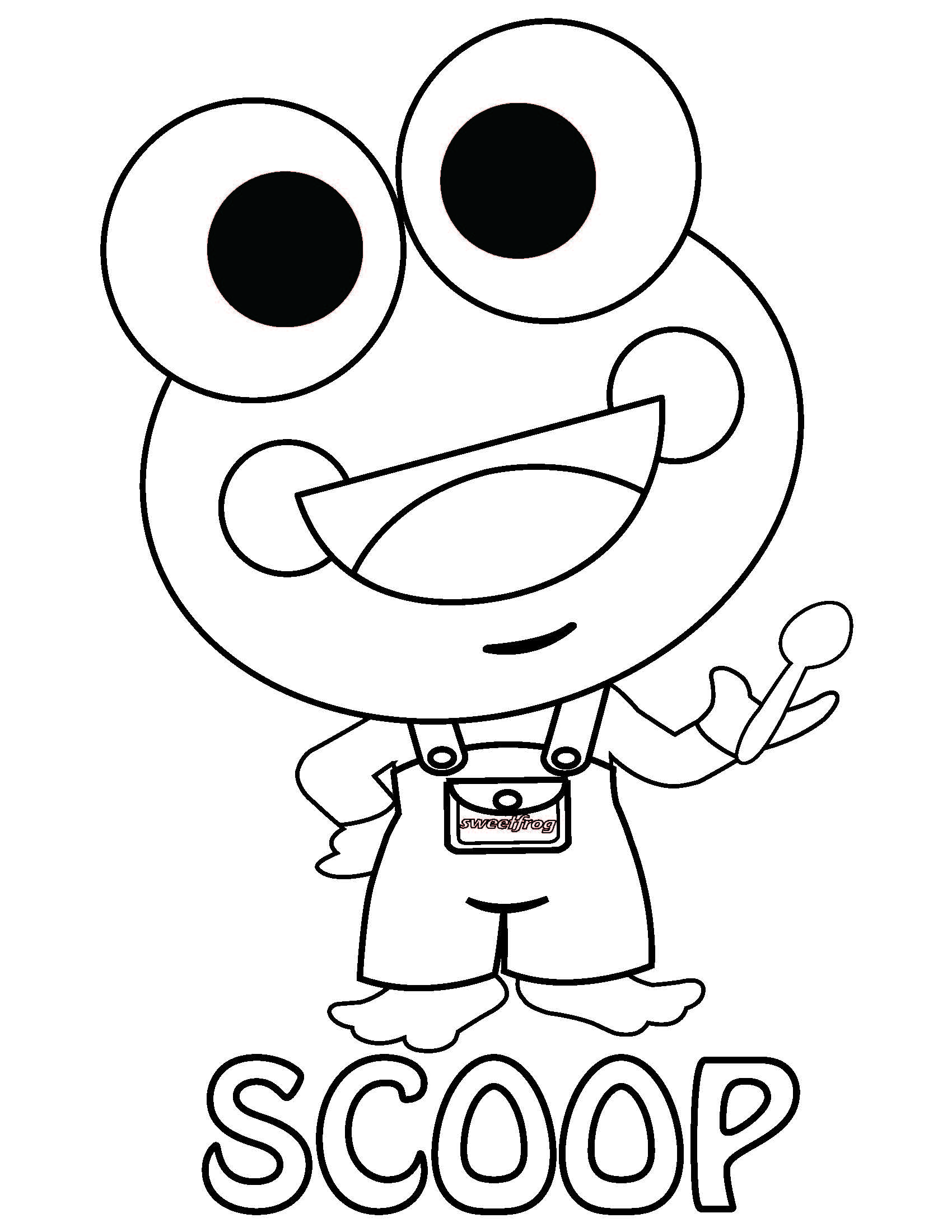 Menchies Coloring Pages - Ultra Coloring Pages | 2200x1700